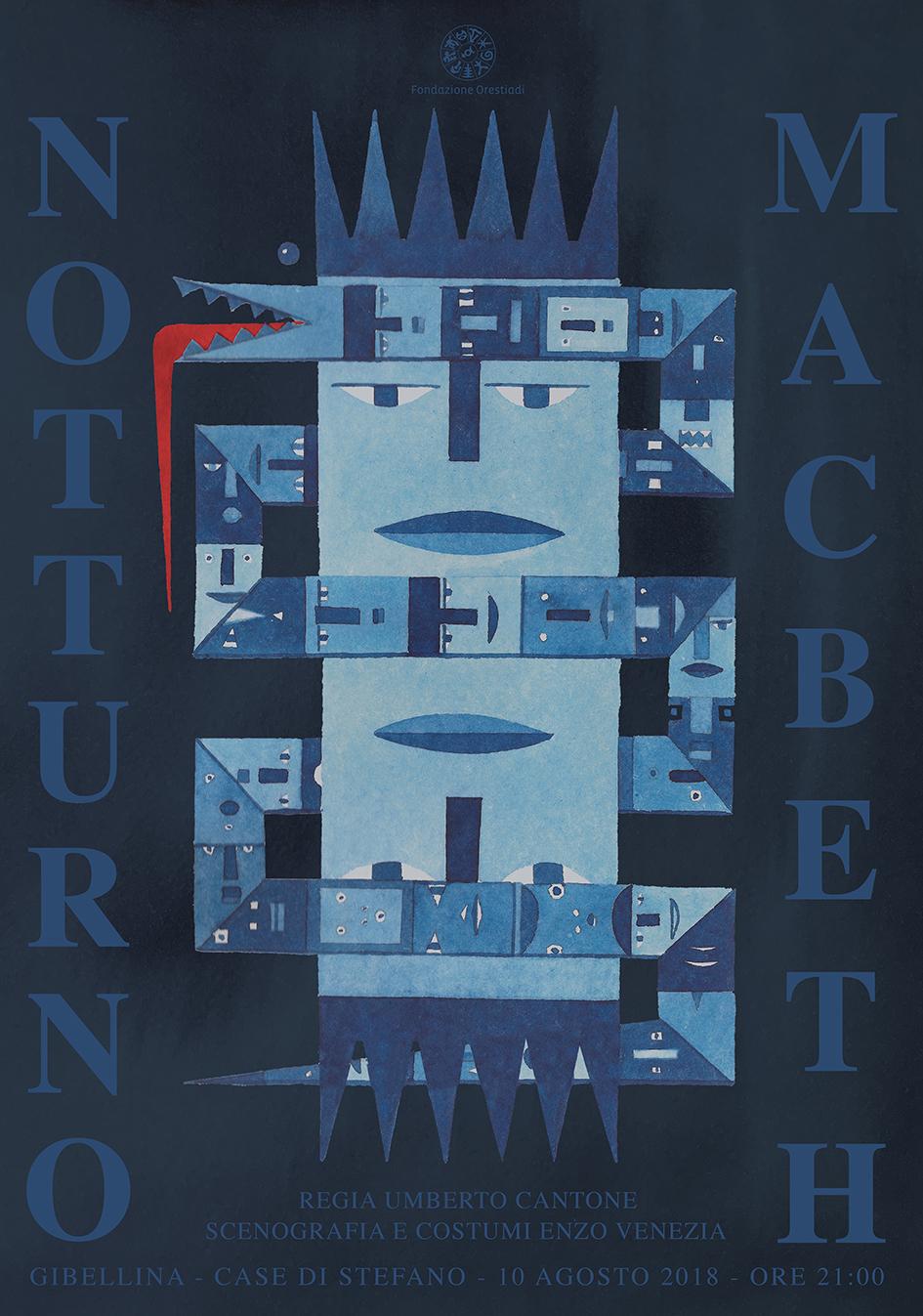 """Notturno Macbeth – da """"Libro notturno"""" di Franco Scaldati – Regia di Umberto Cantone"""