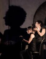 Serena Barone                         (Strega)                                     e                                                Aurora Falcone                   (Strega/Lady Macbeth)       ©fortyonepictures
