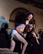 Giuseppe Tarantino             (Macbeth)                              e                                              Aurora Falcone                 (Strega/Lady Macbeth)        ©fortyonepictures