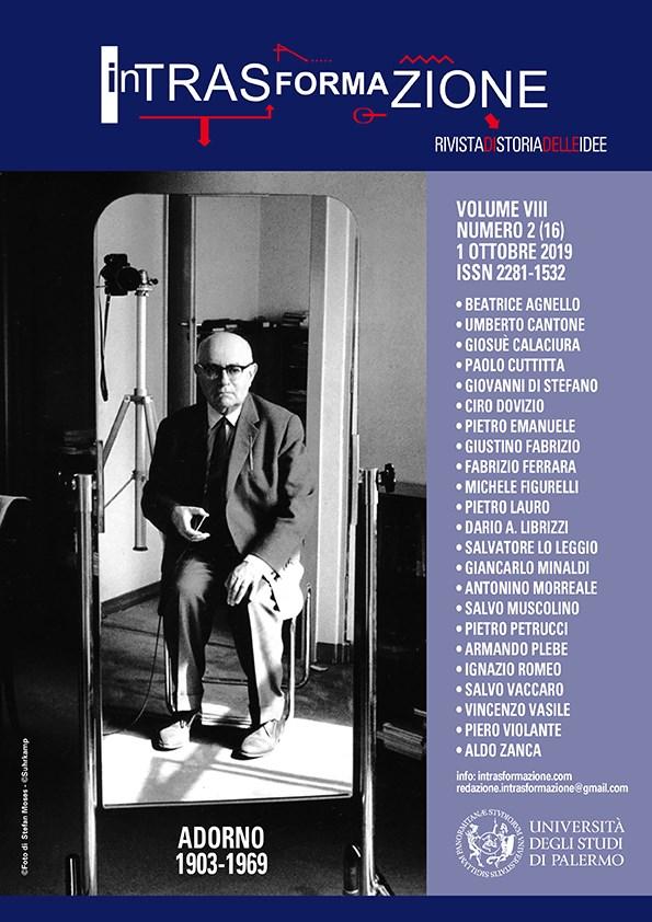 """Effetto Hitch – I 120 anni del demiurgo che ha fatto grande il cinema, """"InTrasFormaZione – Rivista di Storia delle Idee"""", vol. VIII, numero 2(16), 1 ottobre 2019"""