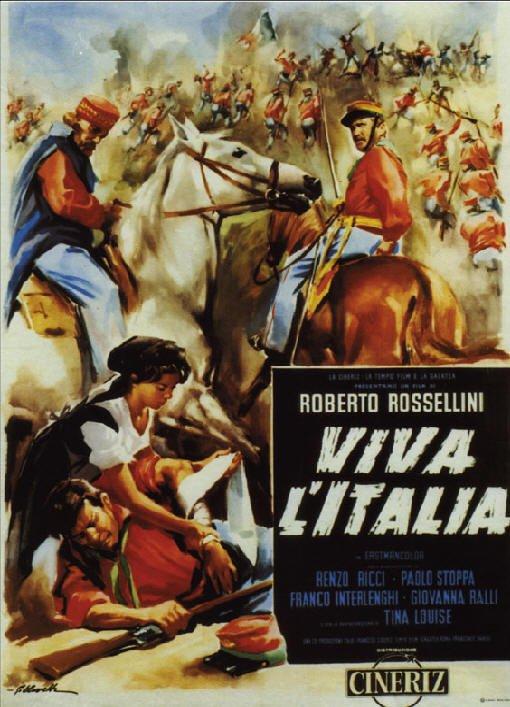 """""""Viva l'Italia"""" di Rossellini, meno emozioni più riflessione, in """"Segno"""""""